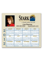 Personalized Power Magnet Calendar 3.91inch x 3.41inch Magnets