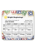 Personalized Price Buster Calendar 3.88inch x 3.5inch Magnets