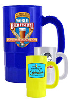 Custom Plastic Beer Mugs