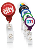 Customized Premium Tear Drop Badge Holders