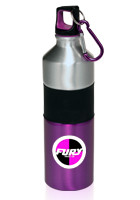 #AB130 25oz. Promotional Aluminium Water Bottles with Two Tone Lid