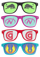 Retro Specs Sunglasses | X10143