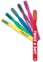 Custom Quality Printed Childrens Toothbrushes