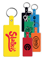 Promotional Rectangle Flexible Key Tag