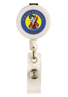 Wholesale Round Retractable Badge Holders