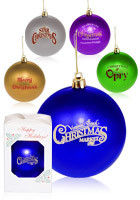 OR2 Round Personalized Holiday Ornaments