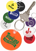 Promotional Round Soft Key Tag