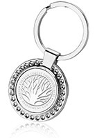 Promotional Rounded Key Chain