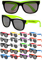 Plastic Two Tone Sunglasses