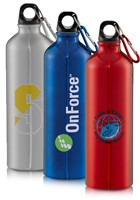 Personalized Santa Fe Aluminum Bottles 26oz