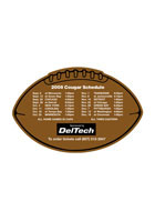 Schedule Football 6.38in x 4.25in Magnets