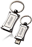 USB0378GB 8GB Slide Metal USB Keychains