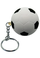 Soccer Ball Stress Ball Keyrings | AL26256
