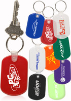 Rubber Key Tag