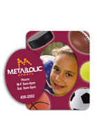 Personalized Sports 3in x 3.75in Magnets