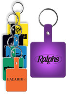Promotional Square Flexible Key Tag