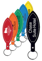 Personalized Surfboard Flexible Key Tag