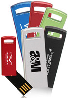Personalized 2GB Swivel Mini USB Flash Drives