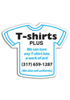Wholesale T-shirt 3.16in x 3.75in Magnets