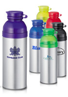 Customized Tahiti 25-Oz. Aluminum Sports Bottles