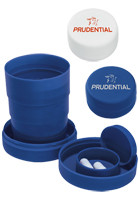 #X11147 Personalized Travel Cups with Pill Compartment