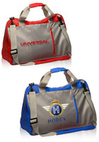 Customized 17W x 11H Travelers Duffel Bags