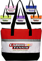 Wholesale 17 W x 13 H Tri-paneled Giveaway Tote Bags