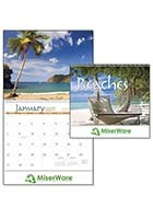 #X11306 Triumph� Beaches Customized Calendars