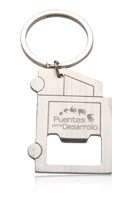 Personalized Truck Design Bottle Opener Keychain