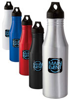 Custom Virgule 24-oz. Aluminum Sports Bottle