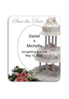 Promotional Wedding Cake 3in x 3.75in Magnets