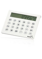 Custom White Desktop Calculators