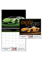 #X11346 Promotional Exotic Cars Calendars