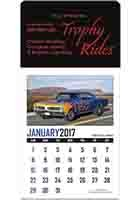 #X11644 Custom Memorable Muscle Stick Up Grid Calendars