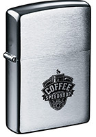 Personalized Zippo Brush Chrome Windproof Lighters