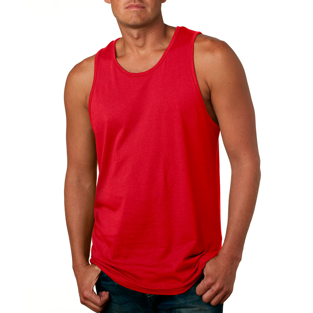 85d94d374a117 Printed Next Level Mens Jersey Tank Tops