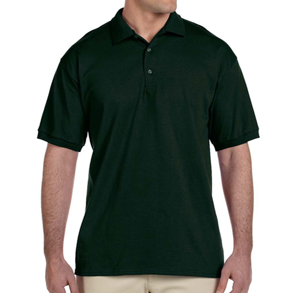 Embroidered Gildan Ultra Cotton Jersey Polo Shirts G2800