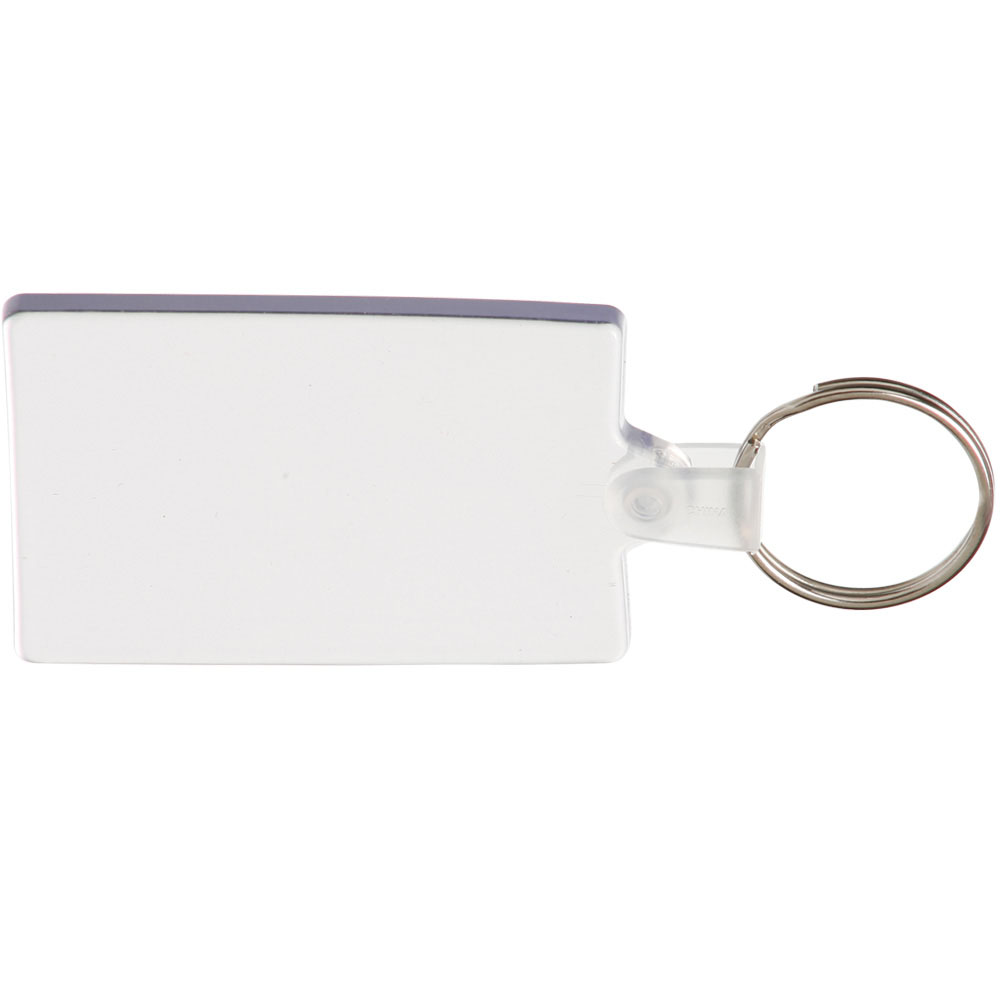 Rectangle Soft Keychains | KEY117
