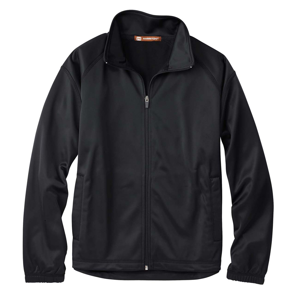 Promotional Harriton 100% Polyester Tricot Track Ladies' Jackets ...